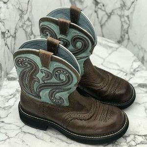 Ariat Shoes - Ariat Turquoise Women's Boot Size 7.5